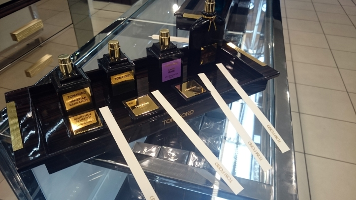 Tom Ford Perfume Consultation